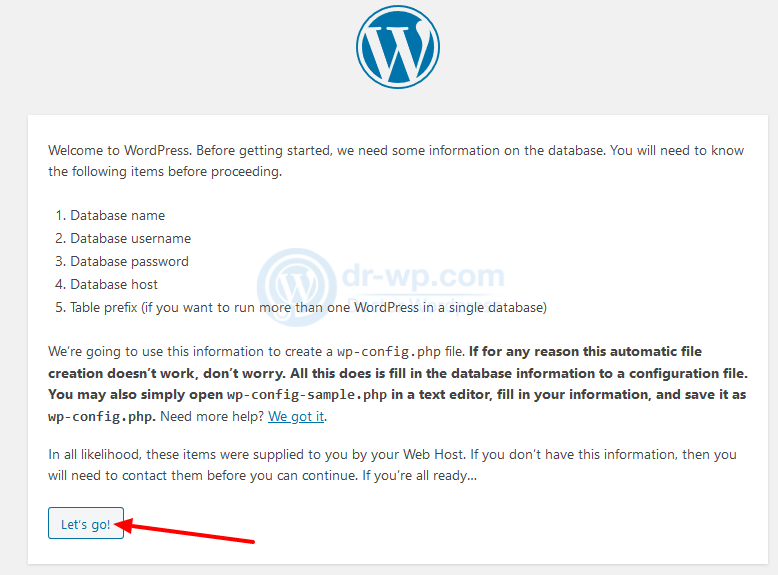 WordPress_›_Setup_Configuration_File2